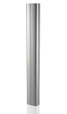 Profilo in PVC finitura alluminio